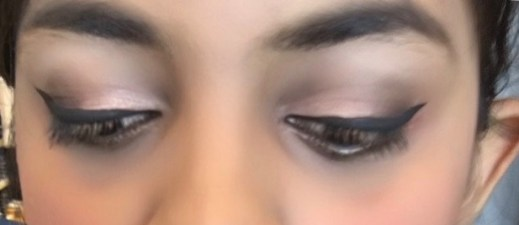 Maybelline The Blushed Nudes Palette Review Swatches Makeup look soft smokey eyes 2