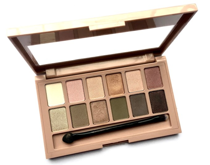 Maybelline The Blushed Nudes Palette Review Swatches Makeup