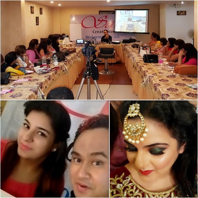 Rohit Singh's Advance Makeup Class by Gunjan Taneja