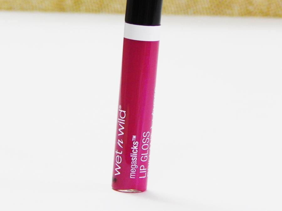 Wet n Wild MegaSlicks Lip Gloss Berried Treasure Review Swatches mbf blog