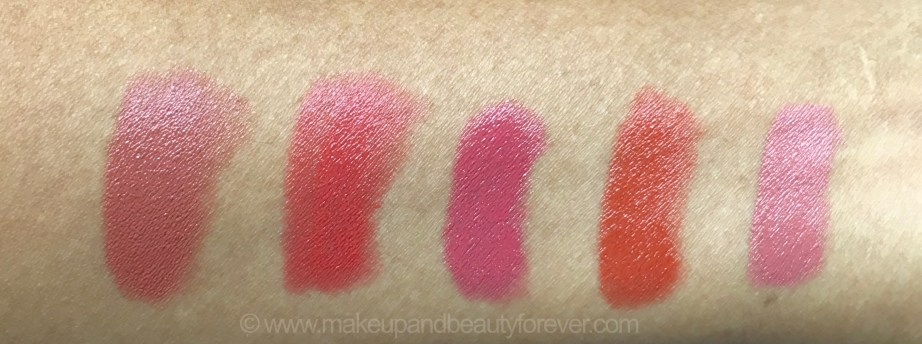 All Faces Ultime Pro Creme Lip Crayons 10 Shades Review Swatches Red Velvet Sunset Kiss Envy Invincible Mochalicious Sun Dew Fantasy Cherrypop Berry Punch Confession 2