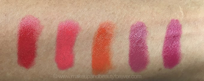 All Faces Ultime Pro Creme Lip Crayons 10 Shades Review Swatches Red Velvet Sunset Kiss Envy Invincible Mochalicious Sun Dew Fantasy Cherrypop Berry Punch Confession 4
