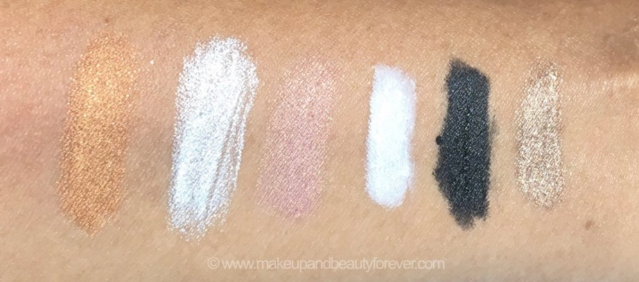 All MAC Pro Longwear Waterproof Colour Stick Eye Shadows Shades Review Swatches Copperpot Silver Coin Lilacked Flat White Black Tea Leaves