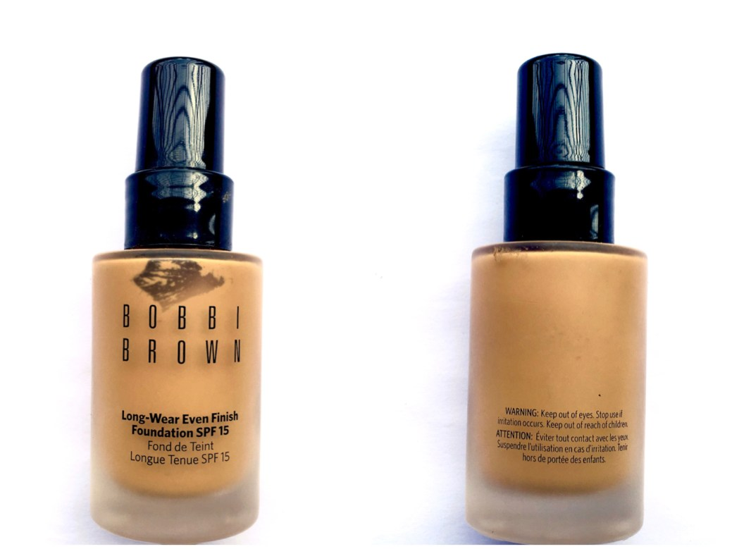Bobbi Brown Long Wear Even Finish Foundation Spf 15 Review Swatches