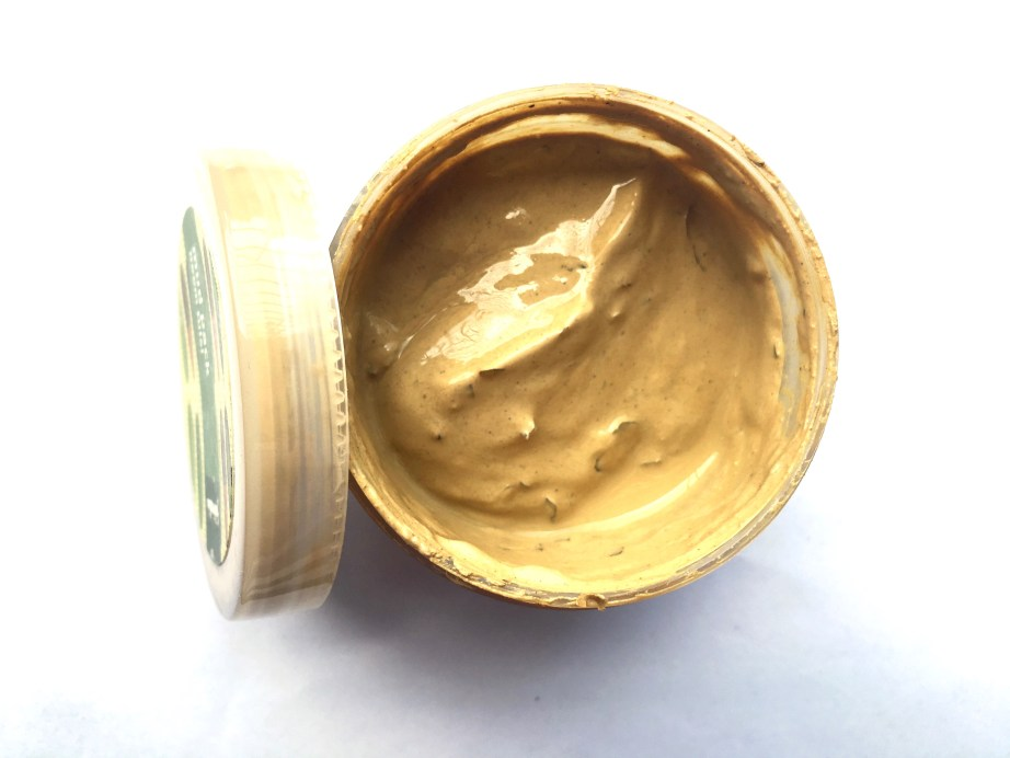Fabindia Neem Tulsi Mud Face Pack Review mbf blog