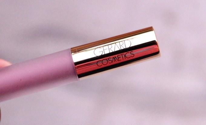 Gerard Cosmetics Hydra Matte Liquid Lipstick Ecstasy Review Swatches mbf