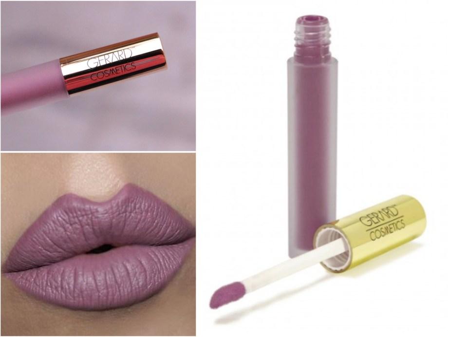 Gerard Cosmetics Hydra Matte Liquid Lipstick Ecstasy Review Swatches