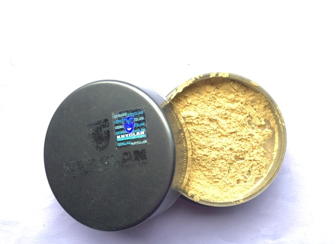 Kryolan Translucent Loose Powder Review Swatches mbf