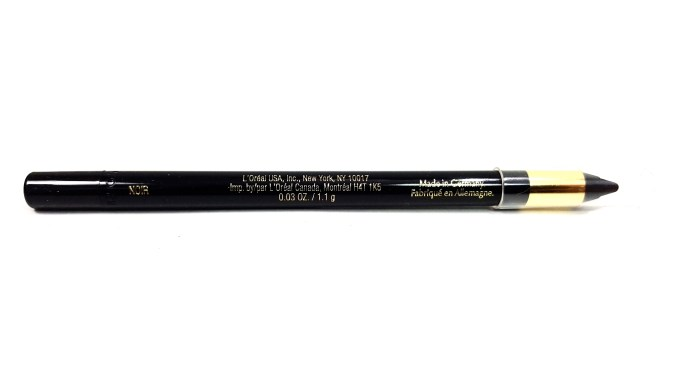 L'Oreal Infallible Silkissime Eyeliner Black Noir Review Swatches details