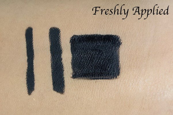 L'Oreal Infallible Silkissime Eyeliner Black Noir Review Swatches fresh