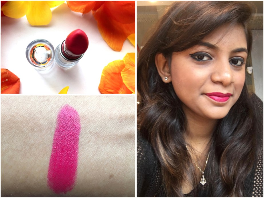 Lakme Enrich Matte Lipstick PM 15 Review Swatches MBF Blog