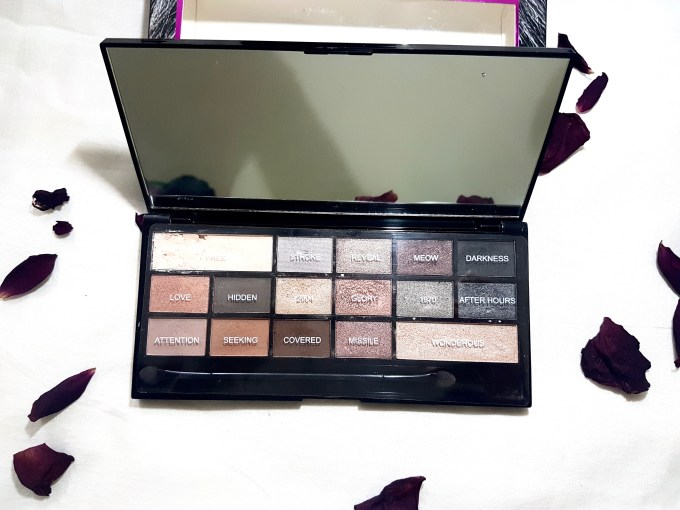 Makeup Revolution I Heart Makeup Naked Underneath Eyeshadow Palette Review Swatches mbf blog