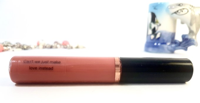 Makeup Revolution Ultra Velour Lip Cream Cant We Just Make Love Instead Review Swatch mbf