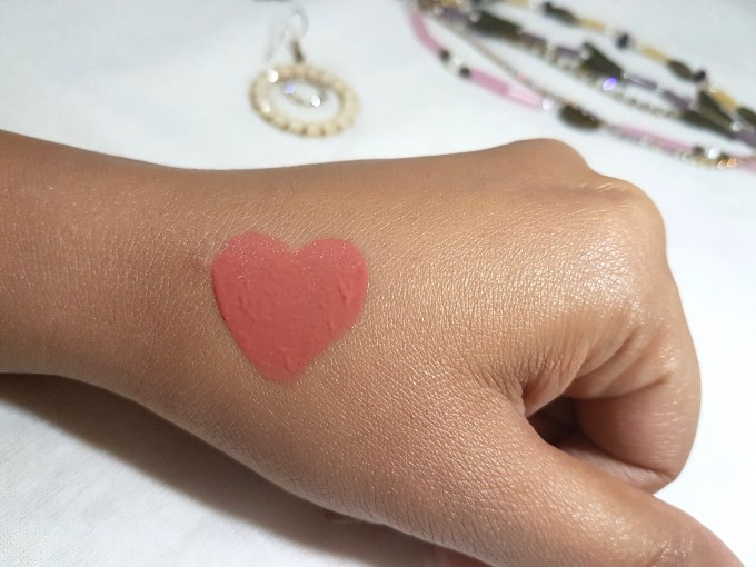 Makeup Revolution Ultra Velour Lip Cream Cant We Just Make Love Instead Review Swatches on hand