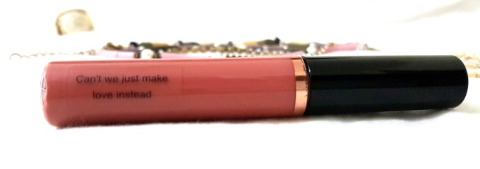Makeup Revolution Ultra Velour Lip Cream Cant We Just Make Love Review