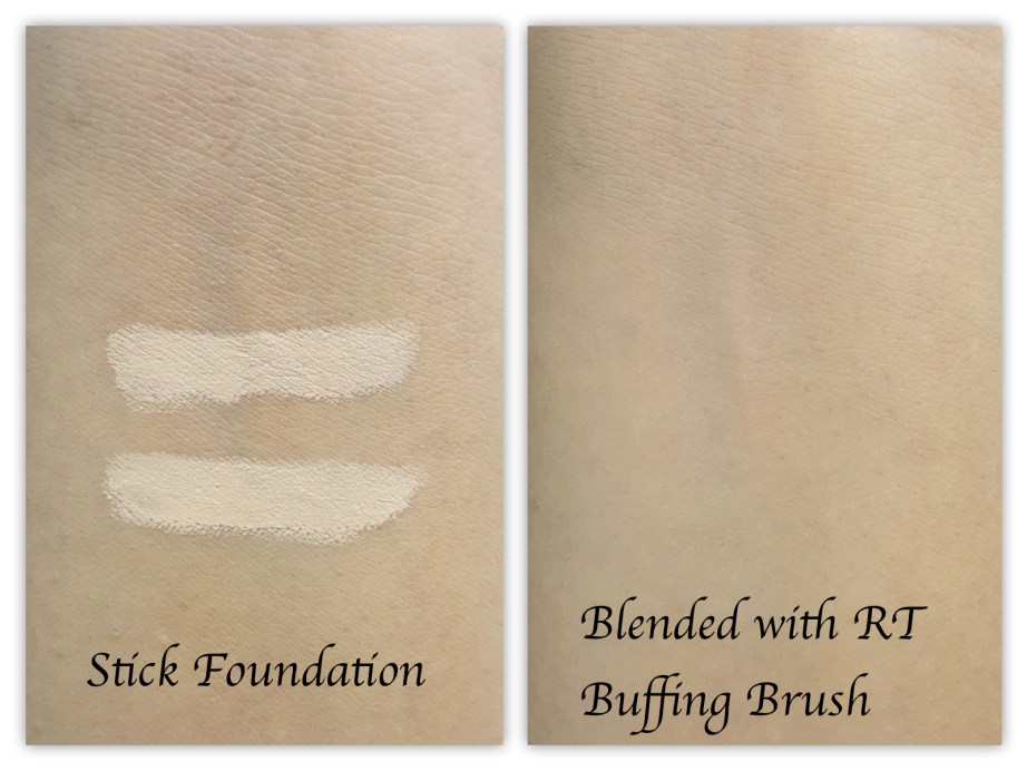 Real Techniques Buffing Brush Review foundation powder