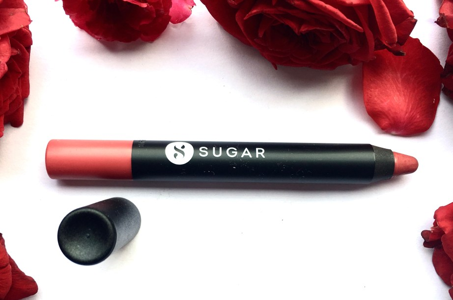 SUGAR Matte As Hell Crayon Lipstick Rose Dawson 05 Review Swatches mbf