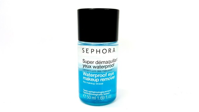 Sephora Waterproof Eye Makeup Remover Review mbf