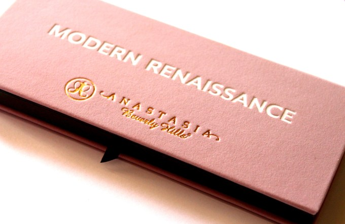 Anastasia Beverly Hills Modern Renaissance Palette Review Swatches