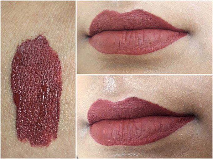 BH Cosmetics Matte Liquid Lipstick Lust Swatches