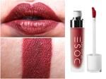 Dose of Colors Matte Liquid Lipstick Brick Review, Swatches