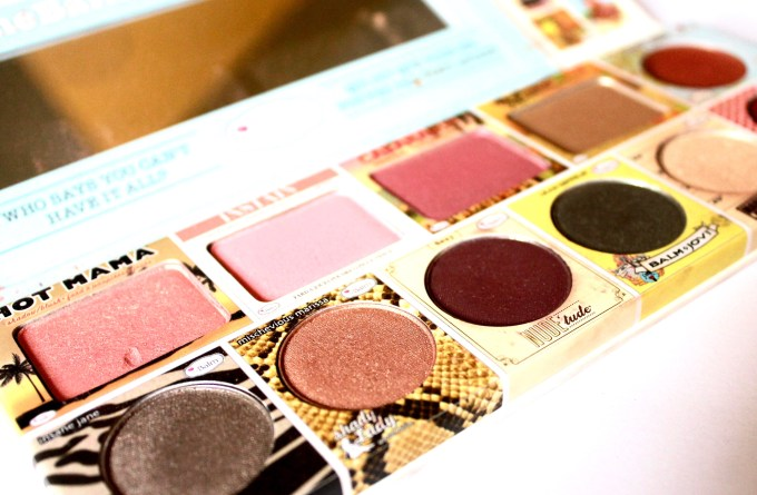 In the Balm of Your Hand Palette Review Swatches blush highlighter lipstick