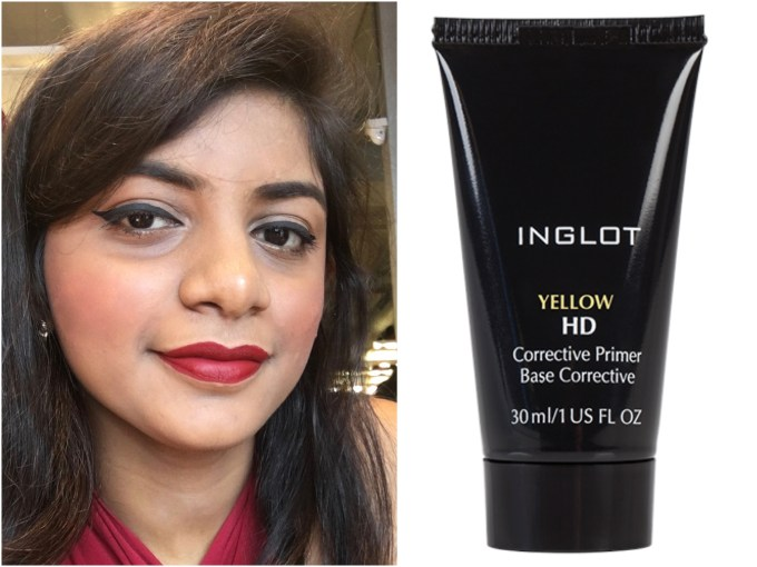 inglot-hd-corrective-primer-yellow-review-swatches-mbf-makeup-look