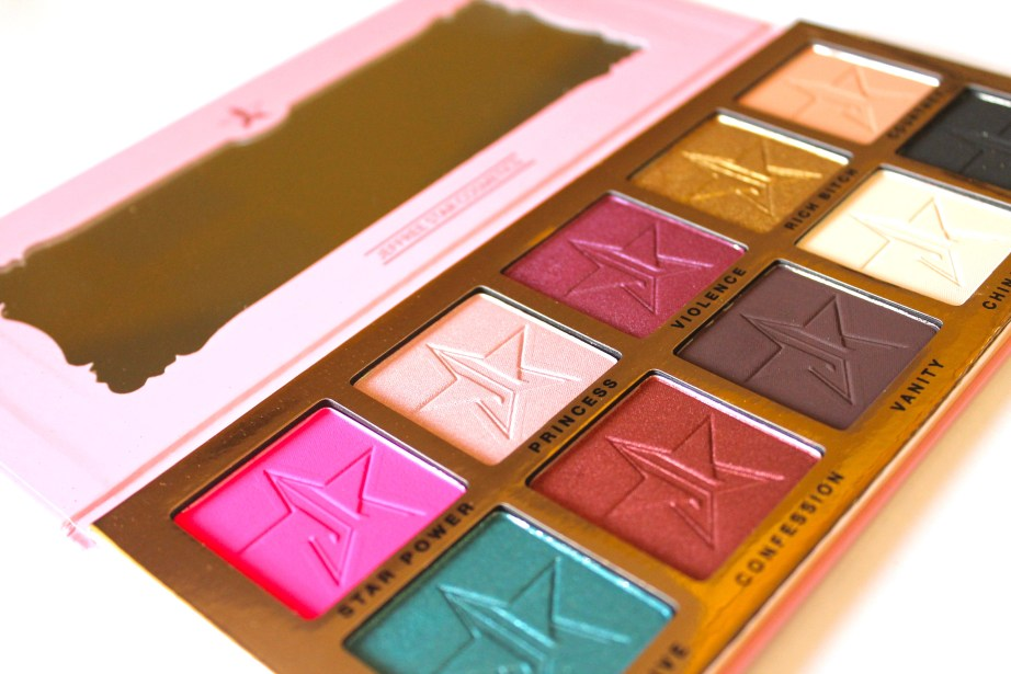 Jeffree Star Beauty Killer Palette Review Swatches MBF