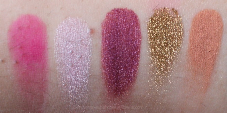 Jeffree Star Beauty Killer Palette Review Swatches Star Power Princess Violence Rich Gold Courtney