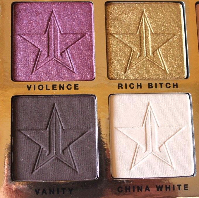 Jeffree Star Beauty Killer Palette Review Swatches quad 3