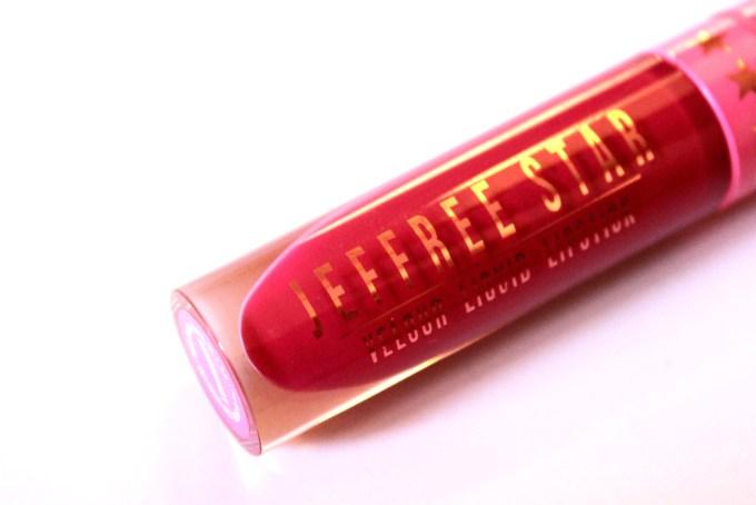 Jeffree Star Velour Liquid Lipstick Masochist Review Swatch