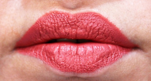 Lipland Matte Lip Crayon Lipstick Nicol Concilio Zoey Review Swatches fresh on lips