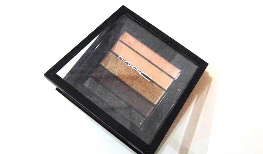 MAC Veluxe Pearlfusion Eyeshadow Palette Copperluxe Review Swatches mbf