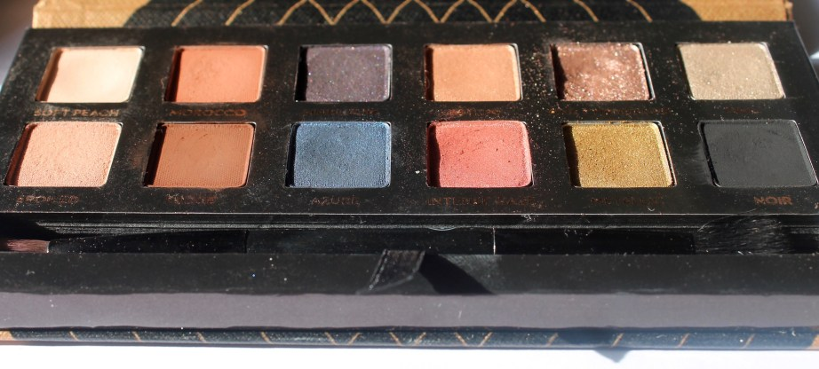Anastasia Shadow Couture World Traveler EyeShadow Palette Review Swatch