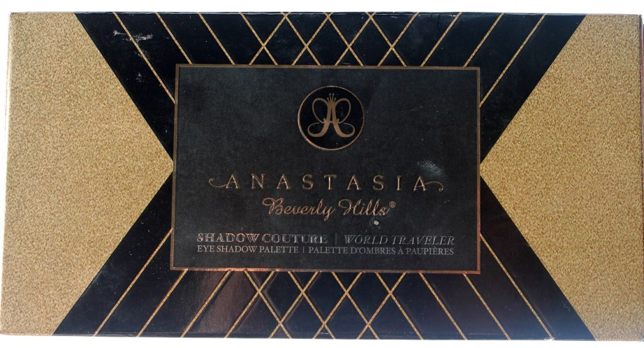 Anastasia Shadow Couture World Traveler EyeShadow Palette Review Swatches blog
