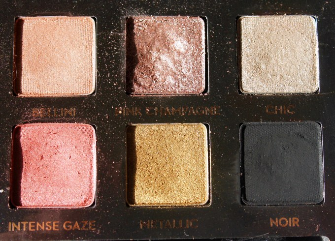 Anastasia Shadow Couture World Traveler EyeShadow Palette Review Swatches right