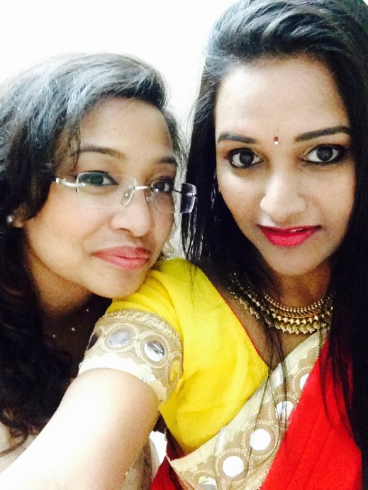 Astha Goel MBF with her best friend
