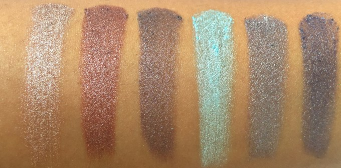 BH Cosmetics Galaxy Chic Baked Eyeshadow Palette Review Swatches Mercury Mars Asteroid Electra Moon Pluto