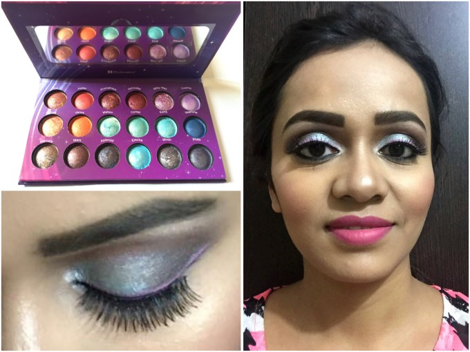 BH Cosmetics Galaxy Chic Baked Eyeshadow Palette Review Swatches by MBF Blog