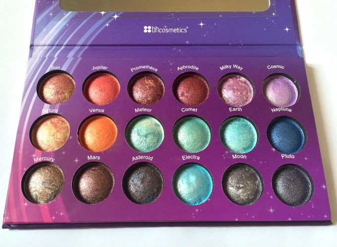 BH Cosmetics Galaxy Chic Baked Eyeshadow Palette Review