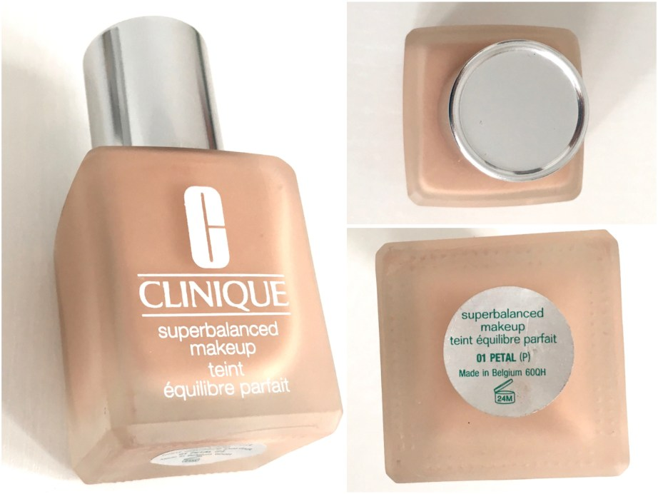 Clinique Superbalanced Makeup Foundation Review Swatches Demo MBF