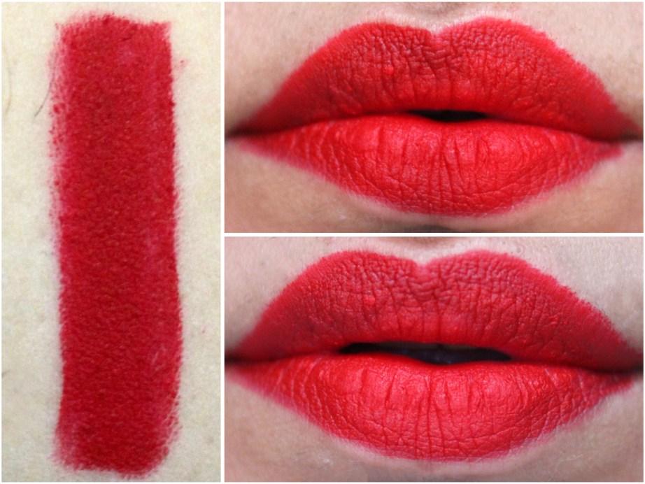 ColourPop Matte X Lippie Stix Trust Me Review Swatches on lips