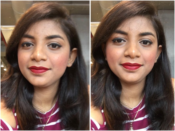 Faces Glam On Perfect Blush Cocktail Peach Review Swatches MBF Makeup Look