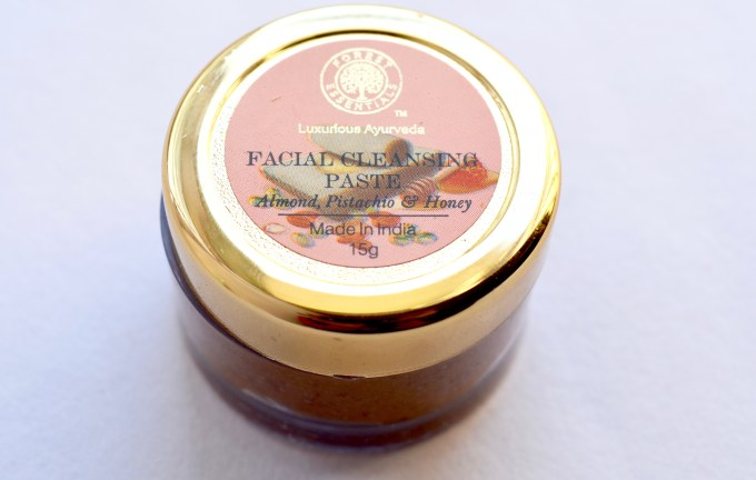 Forest Essentials Facial Cleansing Paste Review Almond Pistachio Honey