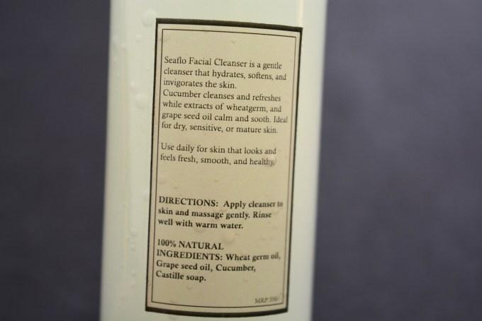 Gulnare Sea Flo Face Wash Review MBF