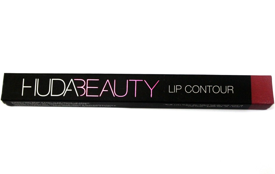 Huda Beauty Lip Contour Matte Pencil Trophy Wife Review Swatches MBF Beauty Blog