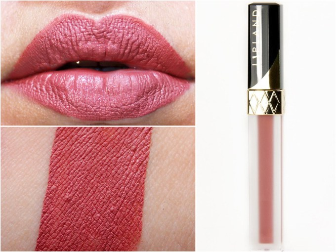 Lipland Matte Liquid Lipstick Baked by Amrezy Review Swatches