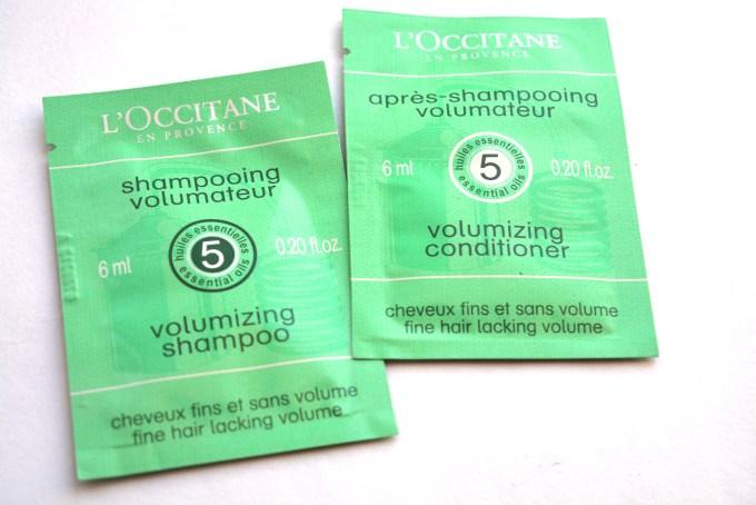 L'occitane Volumizing Shampoo and Conditioner