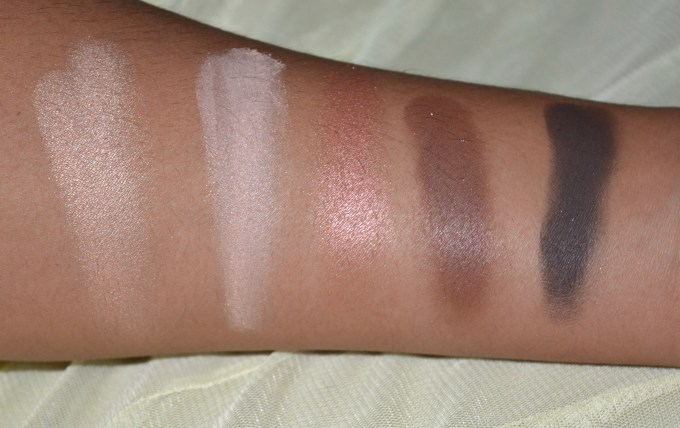 MAC Eyeshadow x 15 Warm Neutral Palette Review Swatches Hey Warm Breeze Gingersnap Dark Brew Dance in the Dark