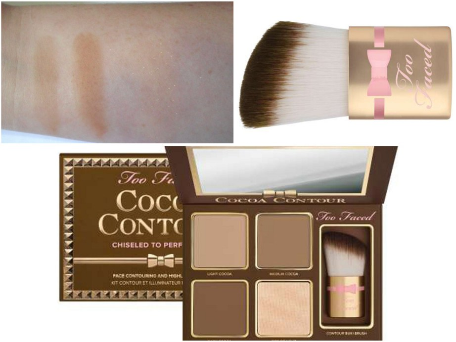 Too Faced Cocoa Contour Chiseled to Perfection Palette Review Swatches MBF Beauty Blog
